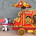 Circus Calliope with Music Box