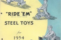 Keystone Ride'Em Steel Toys Catalog 1954