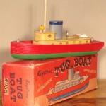 Keystone Tug Boat with Spring Motor Model #955