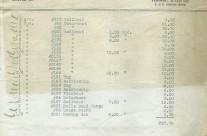 Invoice Jacrim June 4th 1931