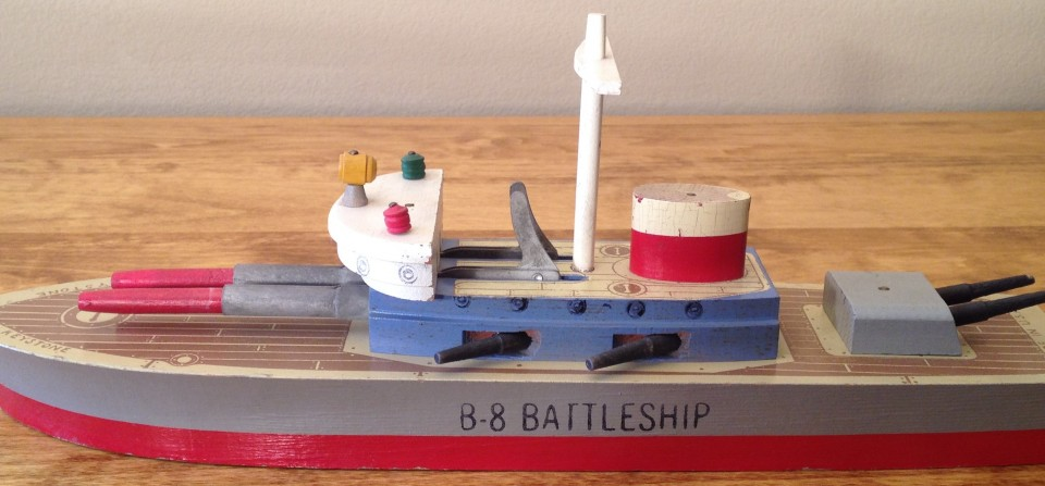 Keystone B-8 Battleship 14″