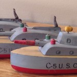 Keystone C-5 U.S. Coast Defense Ships Model #201