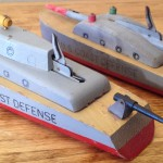 Keystone C-5 U.S. Coast Defense Model #201 Ship Variation