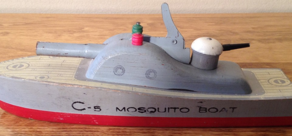 Keystone C-5 Mosquito Boat Part of #671 Battle Fleet