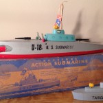 Keystone Action Submarine Model #217 Double Torpedo Tube