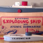 Keystone Exploding Ship with Atomic Submarine Model #361