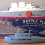 Keystone Exploding Battle Fleet Model #657