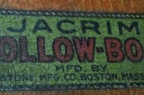 Jacrim Hollow-Boat Logo