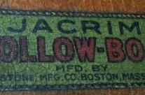 Jacrim Hollow-Boat Logo