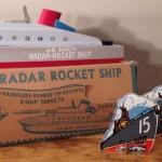 Keystone Radar Rocket Ship Model #255