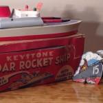 Keystone Radar Rocket Ship Model #251