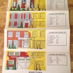 Keystone House Painter Set #202 Instruction Sheet