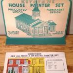 Keystone House Painter Set #204 Instruction Sheet