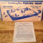 Keystone Huckleberry Finn Fishing Game #555 Instruction Sheet