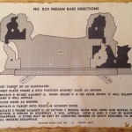 Keystone Indian Raid #829 Instruction Sheet