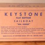 "Keystone ""Sea Horse"" Sailboat Box Model #D3"
