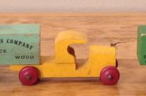 Strombecker Wooden Truck Size Variations