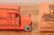 Strombecker Yellow Van & Storage Co. Truck