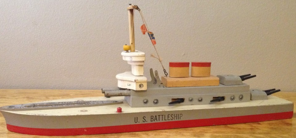 Keystone U.S. Battleship 20″