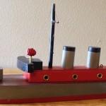 Jacrim Tom Thumb Toys Battleship