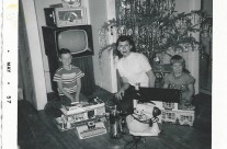 Keystone Service Station and Doll House, Christmas 1956