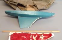 Keystone Wood Toys Sea Gull Sailboat with Red Sail