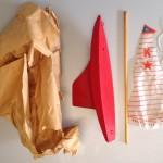 Keystone Wood Toys Sailboat 9in
