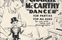 "1938-39 Marks Brothers Co. Catalog Insert for Charlie McCarthy ""Dancer"""