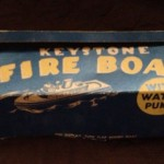 Keystone Fire Boat Box for #353 Keystone Wood Toys