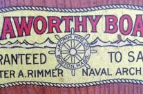 Seaworthy Boats (Chester Rimmer) Logo