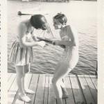Women Playing with Keystone Sailboat