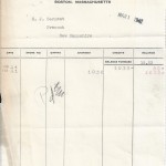 Marks Brothers Invoice March 1st 1942
