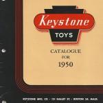 Keystone Toys Catalog 1950