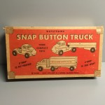 Keystone Wood Toys Snap Button Truck #230 Box