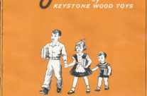 Keystone Wood Toys 1955 Catalog