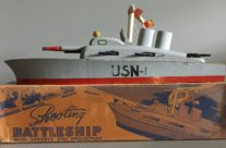Keystone Shooting Battleship Model #207