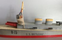 B-15 U.S. Battleship