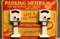 Keystone Parking Meters on Card