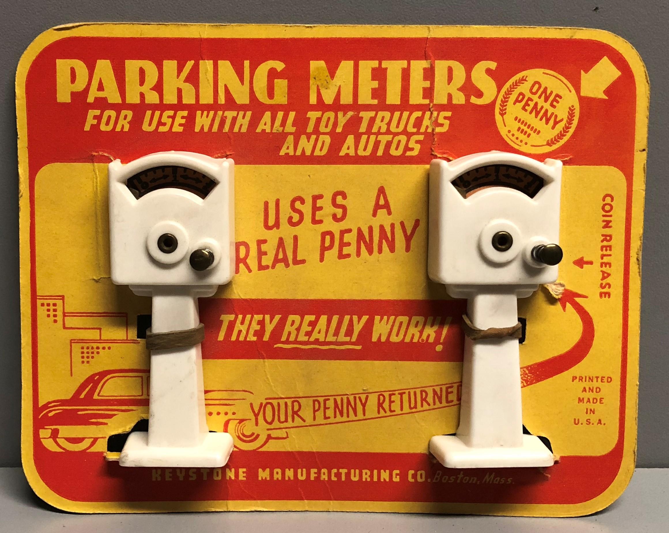 Keystone Parking Meters on Card