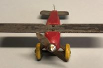 Strombecker Metal Wing Airplane