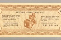Keystone Advertising Scrip