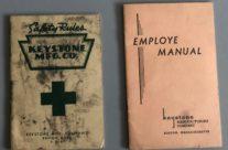 Keystone Employee Manual & Safety Rules Pamphlet
