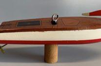Snapper wind up Motor Boat