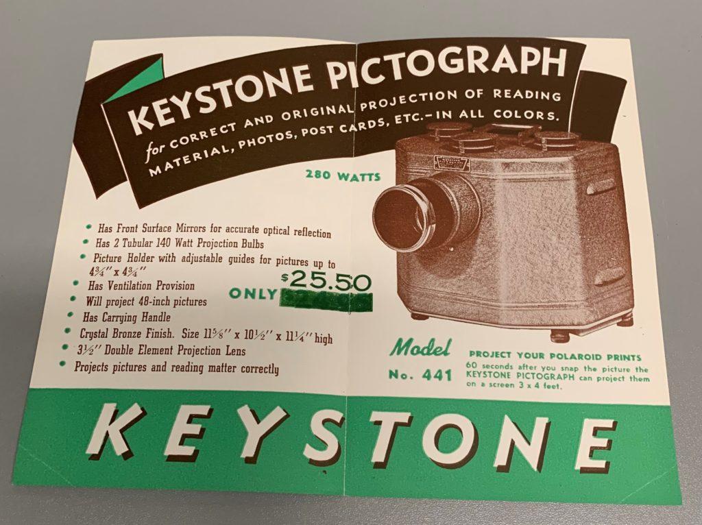 Keystone Pictograph Leaflet