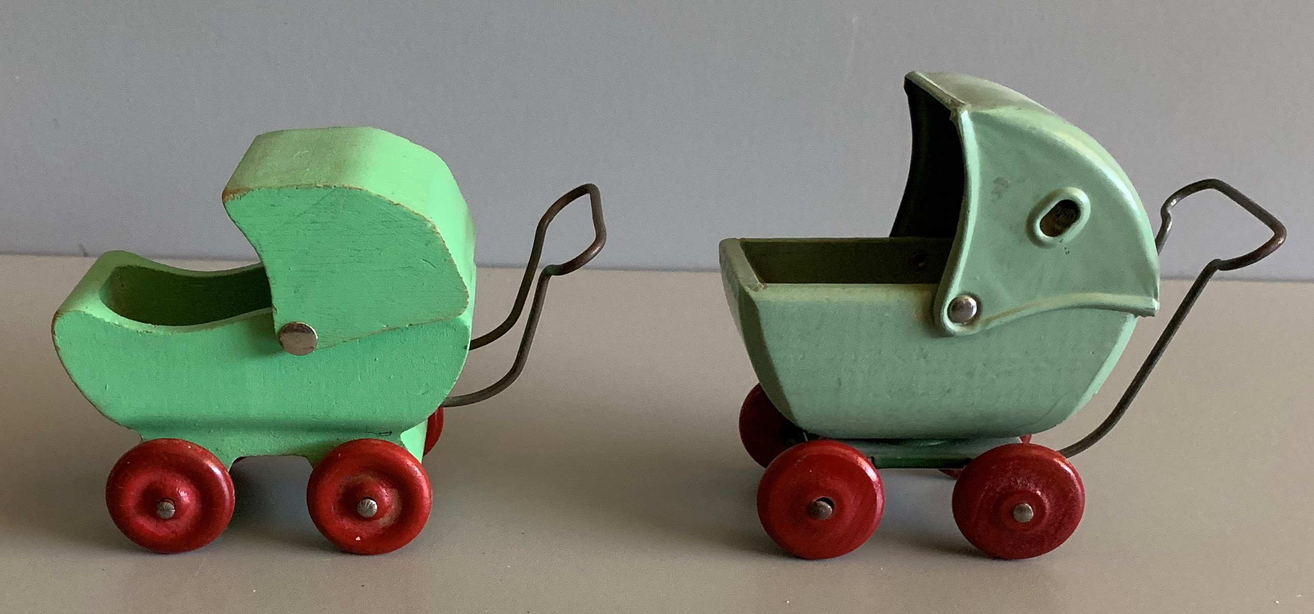 Strombecker Baby Carriages