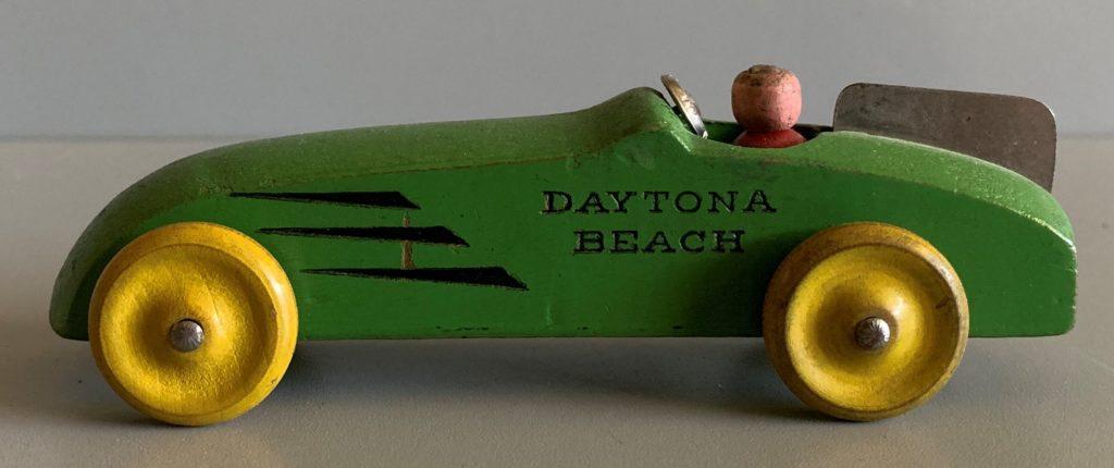 Strombecker Green Daytona Racer