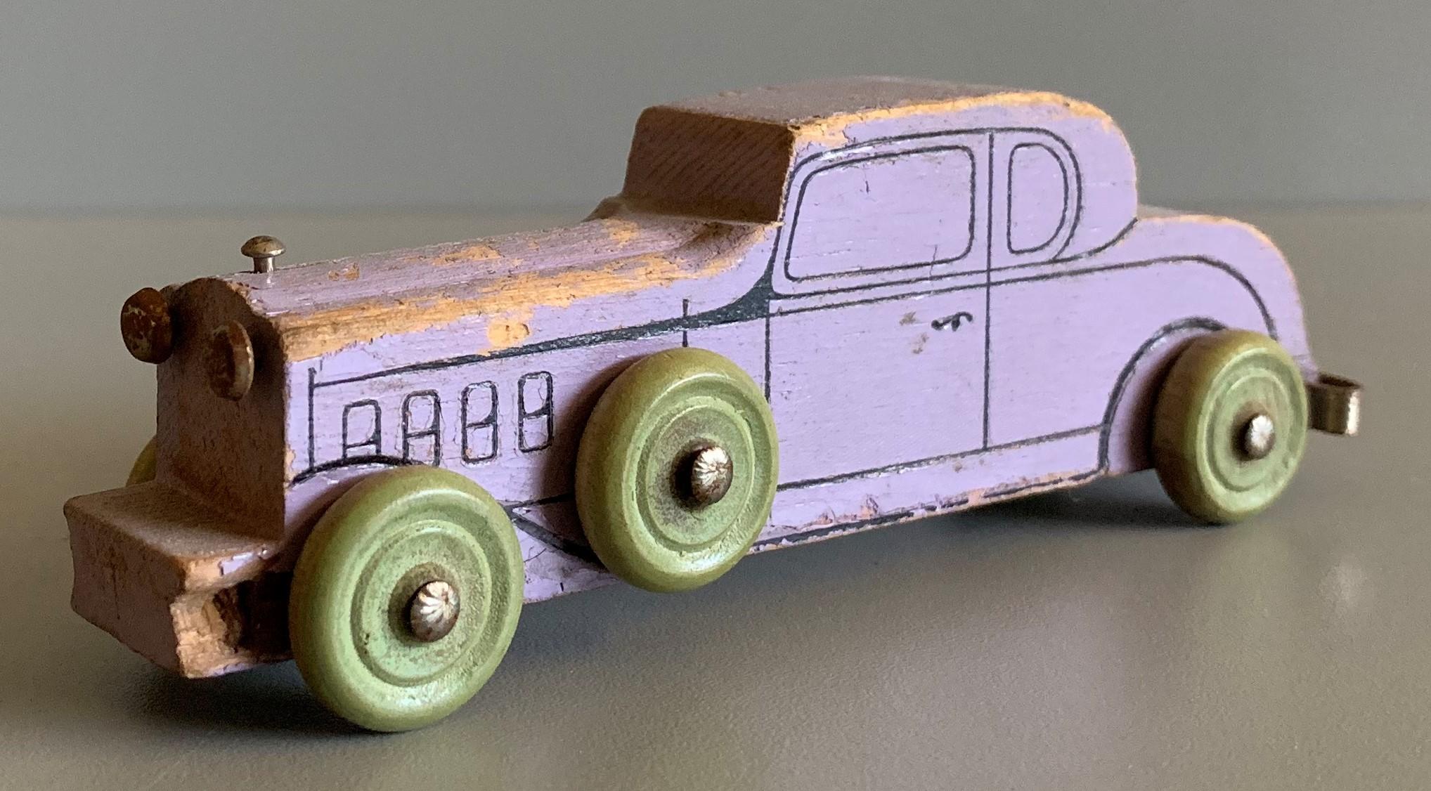 Strombecker Purple Sedan