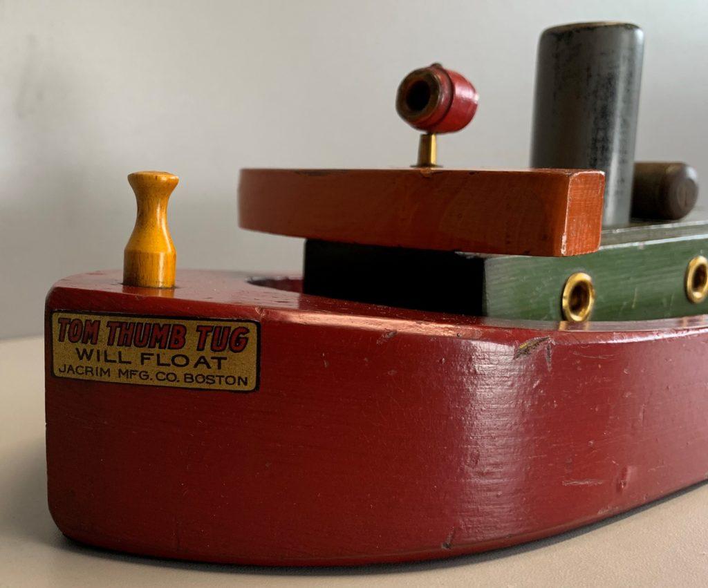 Jacrim Tom Thumb Tug Boat Bow