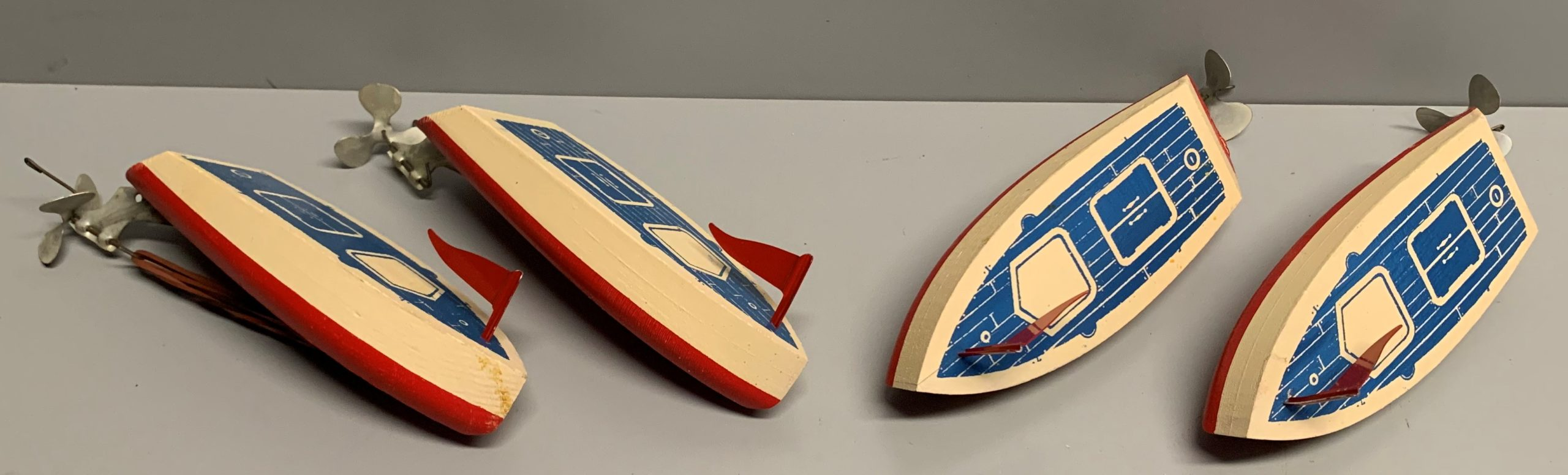 Rubber Band Powered Speedboats