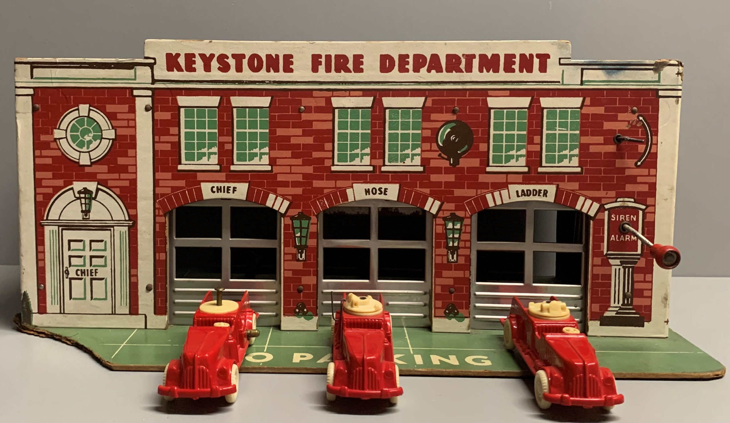 Keystone 3 Bay Fire Station